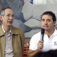 Presidente Alvaro Colom en Huehuetenango